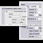 Indigo Mac client screen clips
